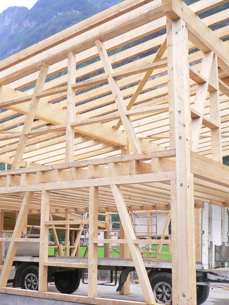 Traditionelle Holzbauten